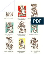 Dioses Mayas, Egipcios y Griegos