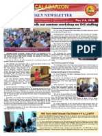 16th Issue -Weekly Newsletter DepEd - CALABARZON
