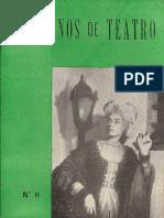 Caderno de Teatro 11
