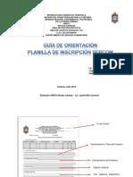 03.4 2016 08 Guía Orientación Planilla Inscripción SERCOM