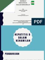 Referat Hepatitis b