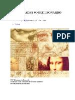 Curiosidades Sobre Leonardo Da Vinci
