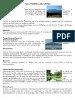 4 Areas Protegidas de Atlántida