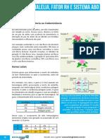 Polialelia Fator Rh e Sistema ABO