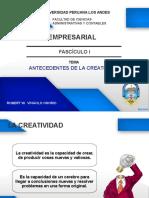 Fasciculo i Antecedentes de La Creatividad[1]