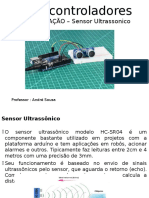 Programação Modulo Ultrassonico