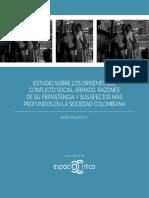 Estudio sobre los orígenes del conflicto social armado, razones de su persistencia y sus efectos más profundos en la sociedad colombiana