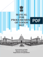 Manual for Procurement of Goods 2017