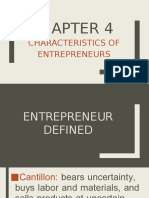 Introduction to Entrepreneur Chapter 4