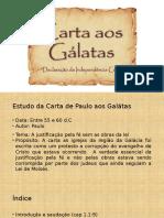 Carta Aos Galatas