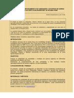 Estabilidad y Comportamiento de Variedades Quinua Peru