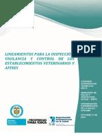 Lineamientos IVC Veterinarias y Afines