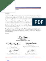 Bruce Blakeman Letter