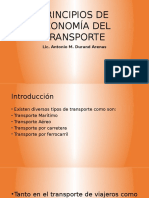 Principios de Economía Del Transporte