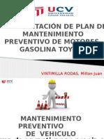 Implementación de Plan de Mantenimiento Preventivo de Motores