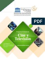 Brochure Cine y Television
