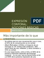 Expresión Corporal_ Nociones Básicas