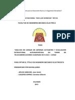 """""""Analisis de Cargas en Antenas Actuantes y Evaluación--ica"""