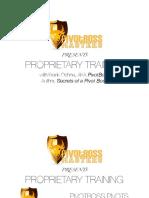 Prop Trader Training