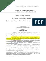 Lei Nº13.445-Lei de Migração
