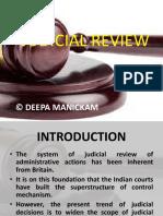 14 Judicial Review