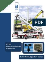 SEI201 Windspeed Installation Operators Manual English
