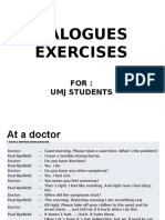Doctor and Patients Dialogues