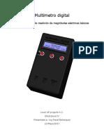 Multimetro Digital - Informe