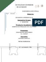 Diseños Factoriales Con 2 Factores