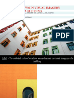 Role of Windows in Visual Imagery of a Building