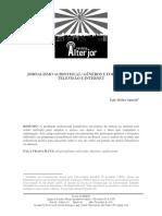 SPINELLI Egle Jornalismo Audiovisual Generos e Formatos Na Televisao e Internet