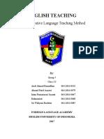 Fix Makalah English Teaching Kel5