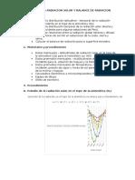 Informe 5 Meteorologia Estudio de La Radiacion Solar y Balance de Radiacion