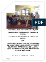 La Joya Adulto Mayor - Pip