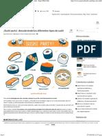 ¡Sushi party!, descubriendo los diferentes tipos de sushi - Espai Wabi Sabi.pdf