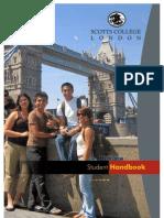 Scott's College London Student HandBook