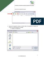 Manual Para Dividir Un Archivo Pesado en Winzip