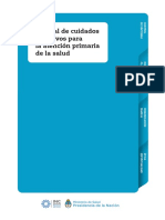Manual de Cuidados Paliativos Para La Atención Primaria de Salud
