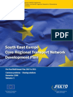 SEETO 2006, South-East Europe Core Regional Transport Network Development Plan. Five Year Multi Annual Plan 2007 to 2011 Common problems – Sharing solutions, November 2006, Volume 1.pdf