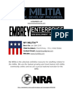 2017 My Militia Manifesto