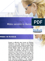 Mbbs Service in Russia