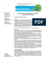 Formulation and evaluation of wood apple supplemented Kalakand
