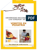 Vomitos en Pediatria