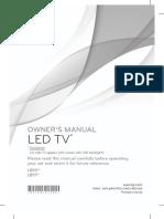 LG TV Mannual