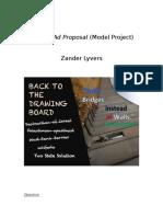 jericho ad proposal  model