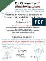 Unit1 5 Problems on Mechanisms (1)(1)