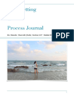 goal setting and process journal
