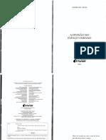 A Divisão Do Espaço Urbano - André Del Negri