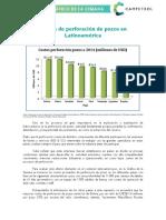 costos de perforacion en Latinoamerica