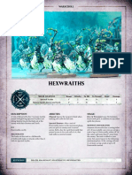 Aos Warscroll Hexwraiths En